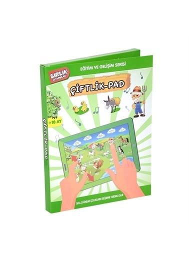 Birlik Oyuncak Birlik Oyuncak Yy582 A412288Ttb Eğitici Hayvanlı Çocuk Çiftlik Pad Oyuncağı Renkli